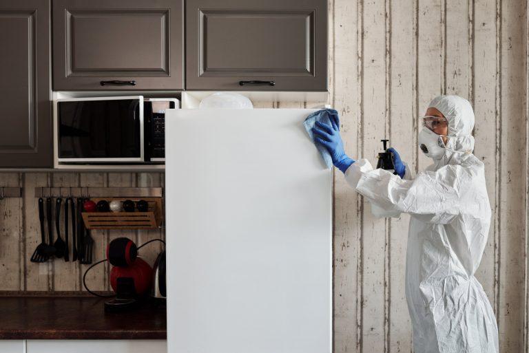 Nettoyage et désinfection de matériels professionnels