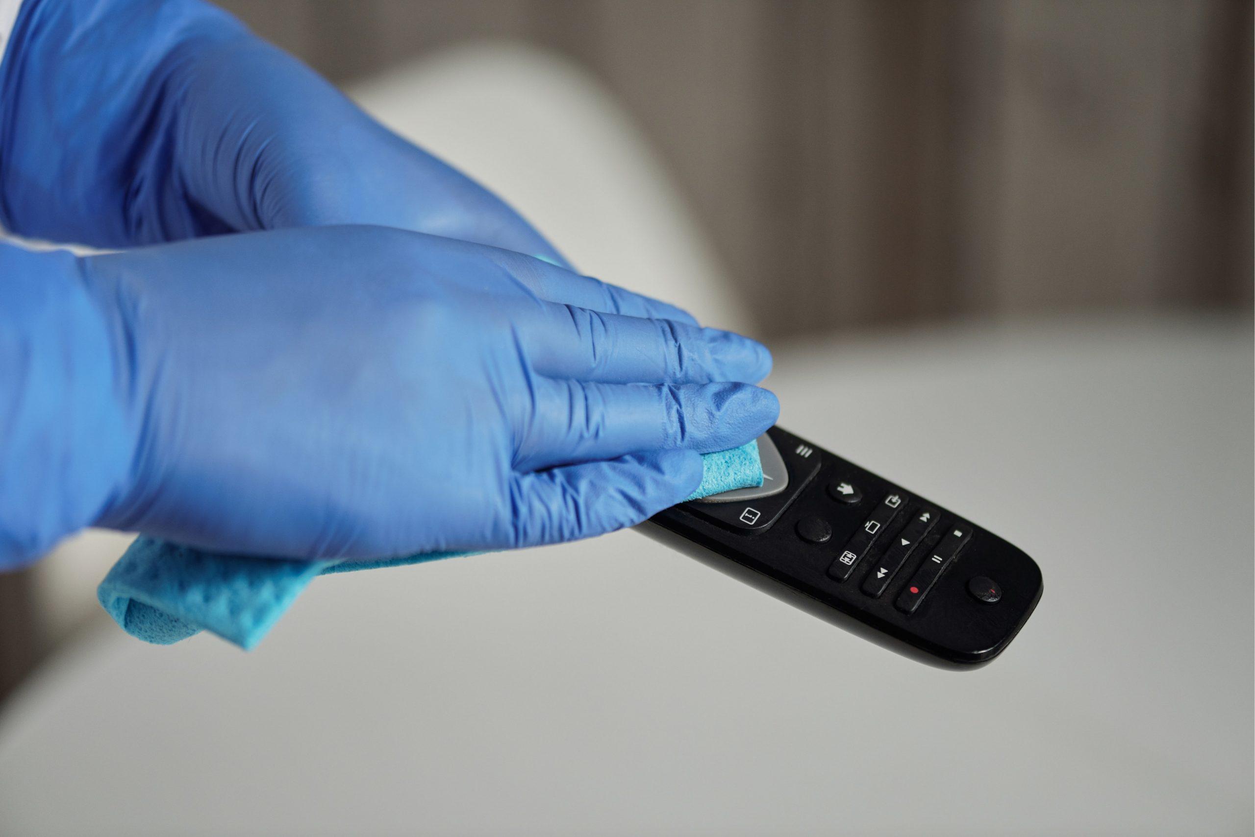 Télécommande nettoyage